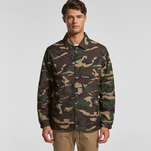 MENS COACH CAMO JACKET