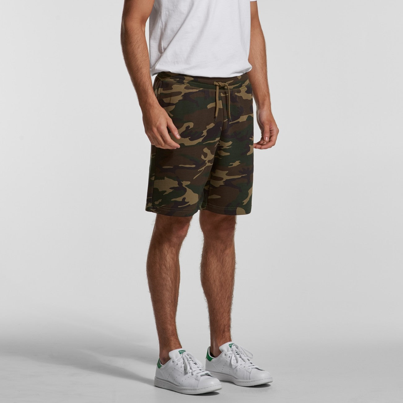 MENS STADIUM CAMO SHORTS