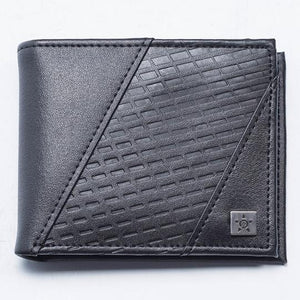 UNIT MENS LEATHER WALLET BRINK BLACK