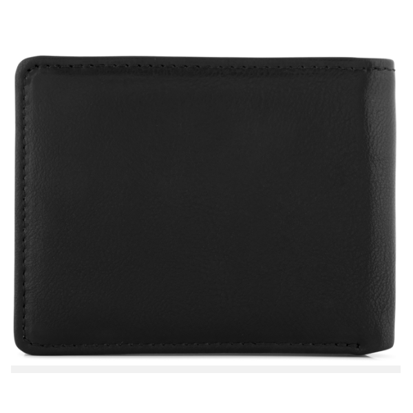 UNIT MENS WALLET CHARGED BIFOLD BLACK