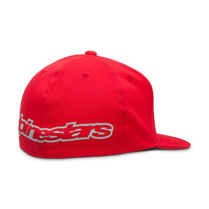 ALPINESTARS BRAKE FLATBILL RED