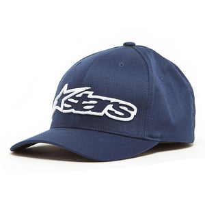 ALPINESTARS BLAZE FLEXFIT HAT NAVY/WHITE