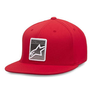 ALPINESTARS NOTCH FLATBILL HAT RED