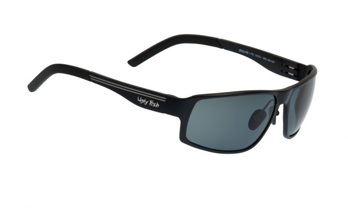 UGLY FISH AVALANCHE PN24203 MATT BLACK FRAME SMOKE LENS