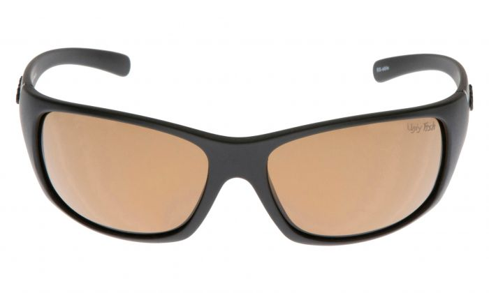 UGLY FISH ECLIPSE PC3411 MATT BLACK FRAME BROWN LENS