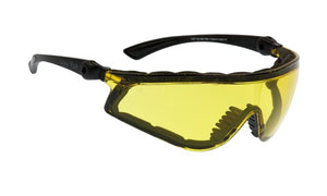 UGLY FISH FLARE WITH POSITIVE SEAL RS5959-PS MATT BLACK FRAME YELLOW LENS