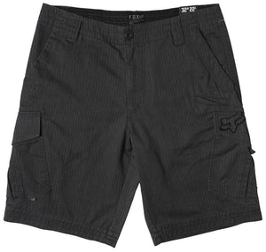 FOX SLAMBOZO PINSTRIPE SHORT CHARCOAL