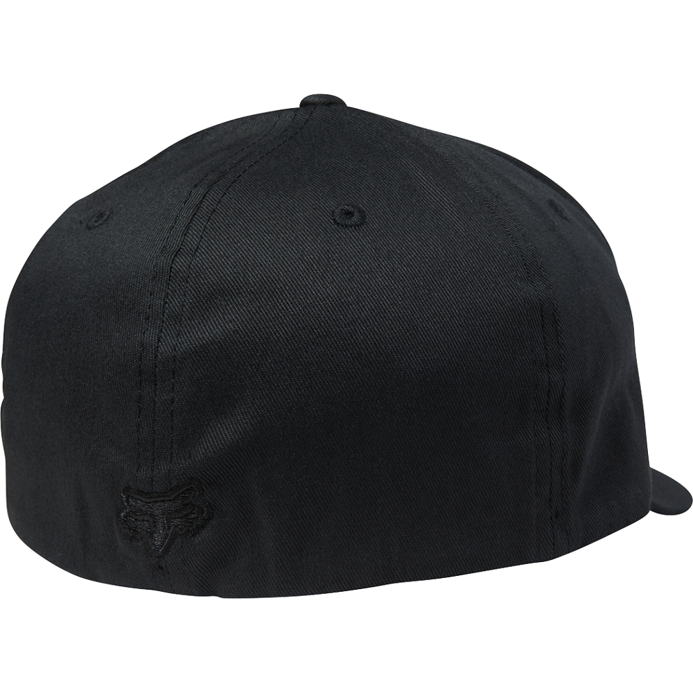 FOX TRADED FLEXFIT HAT - BLACK