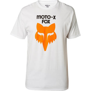 FOX LEGACY HERITAGE TEE - OPTIC WHITE
