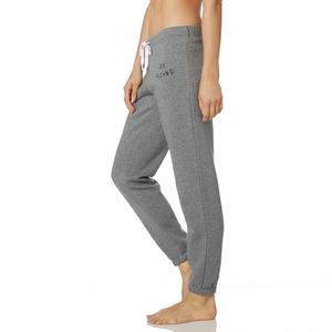 FOX BOLT FLEECE PANT - HEATHER GRAPHITE