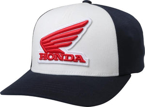 FOX HONDA FLEXFIT HAT - MIDNIGHT