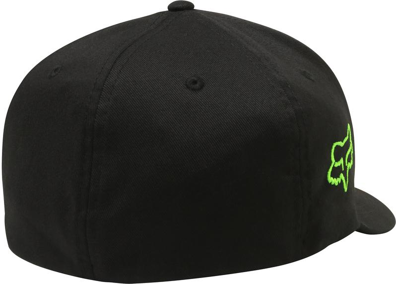 FOX PRO CIRCUIT FLEXFIT HAT - BLACK