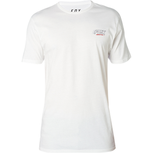 FOX EDIFY TEE - OPTIC WHITE