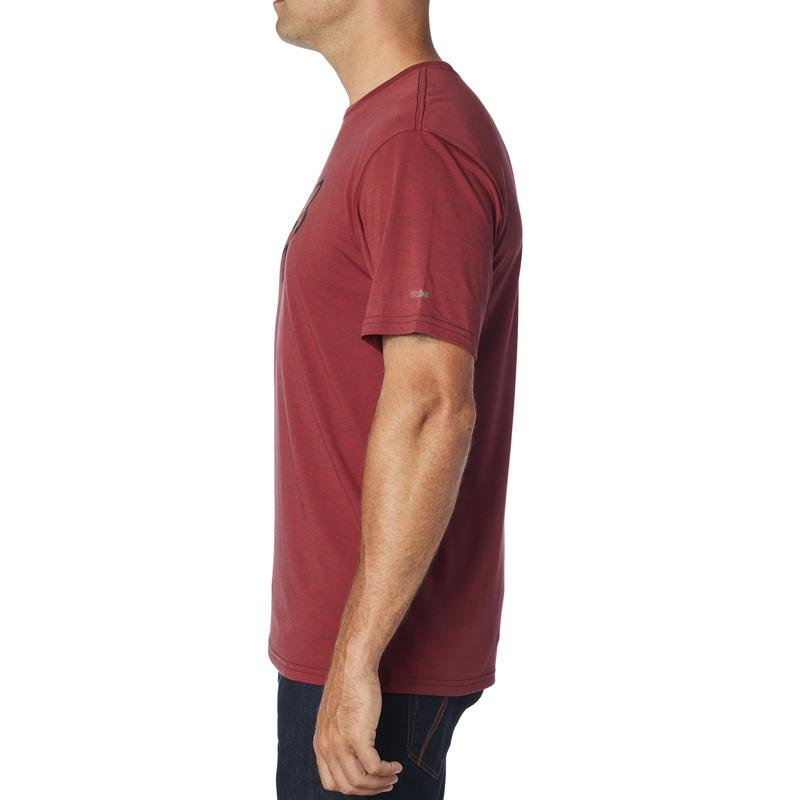 FOX TOURNAMENT TECH TEE - HEATHER RED