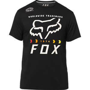 FOX MURC FCTRY TECH TEE - BLACK