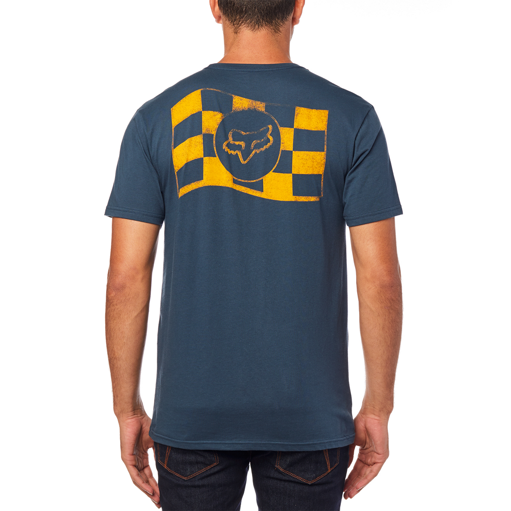 FOX PODIUM TEE - NAVY