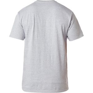 FOX MURC TONER TEE - LIGHT HEATHER GREY