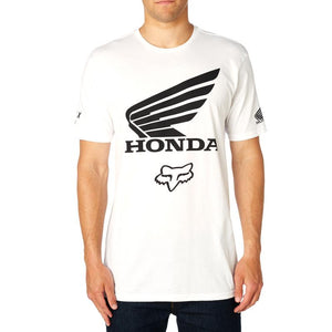 FOX HONDA TEE- OPTIC WHITE