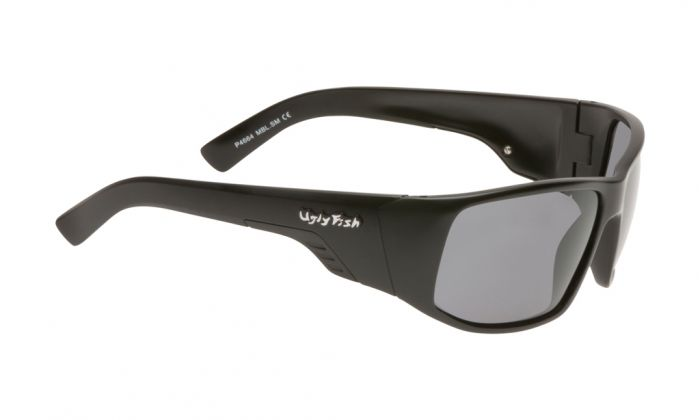 UGLY FISH P4664 MATT BLACK FRAME SMOKE LENS