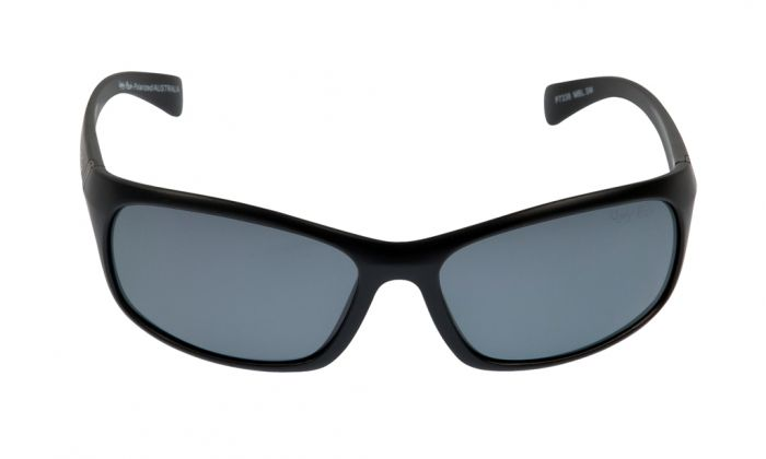 UGLY FISH P7338 MATT BLACK FRAME SMOKE LENS