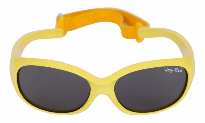 UGLY FISH PB001 YELLOW FRAME SMOKE LENS