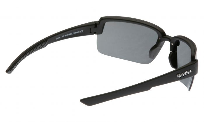 UGLY FISH LUNAR PC3050 MATT BLACK FRAME SMOKE LENS