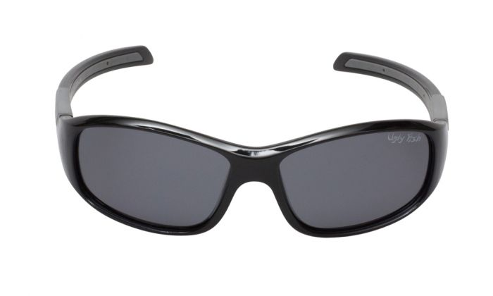 UGLY FISH PK366 SHINY BLACK FRAME SMOKE LENS