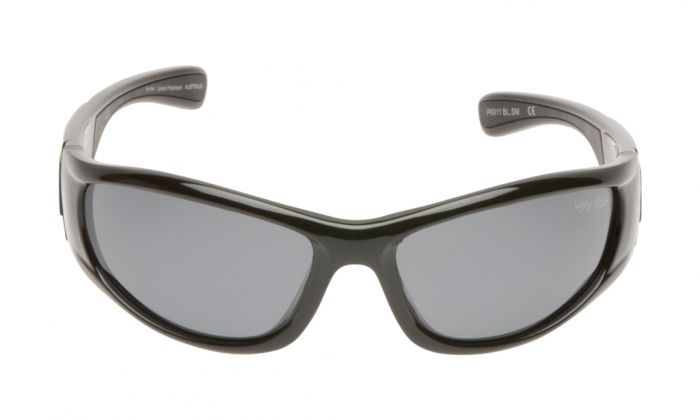 UGLY FISH PK911 SHINY BLACK FRAME SMOKE LENS