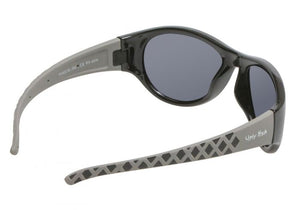 UGLY FISH PK922-SHINY BLACK FRAME/SMOKE LENS