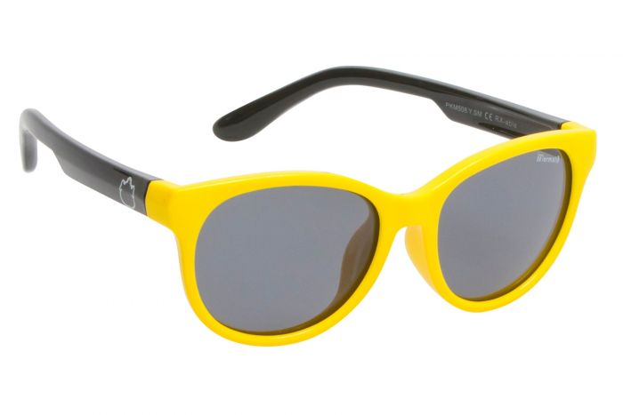 UGLY FISH PKM 506-YELLOW FRAME/SMOKE LENS