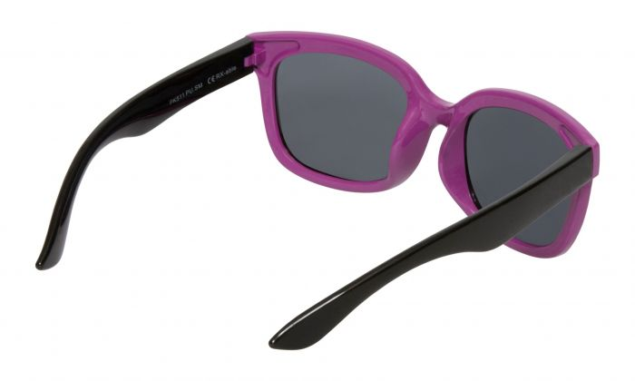 UGLY FISH PKM511 PURPLE BLACK POKKADOT FRAME/SMOKE LENS