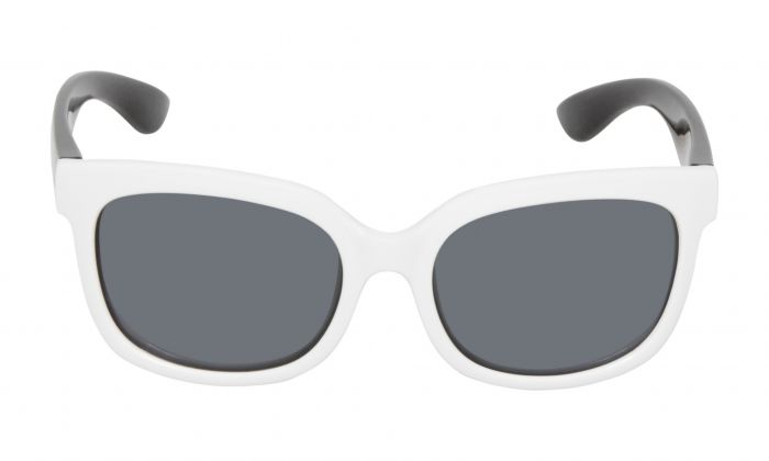 UGLY FISH PKM511 WHITE BLACK FRAME SMOKE LENS