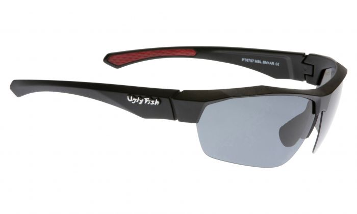 UGLY FISH PT6797 MATT BLACK FRAME SMOKE LENS