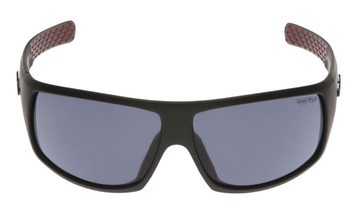 UGLY FISH PT6881 MATT BLACK FRAME SMOKE LENS