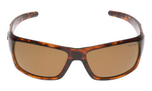 UGLY FISH PT9366 BROWN TORTOISE SHELL FRAME BROWN LENS
