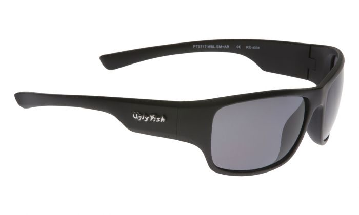 UGLY FISH PT9717 MATT BLACK FRAME SMOKE LENS