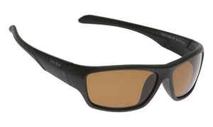 UGLY FISH PU5117 MATT BLACK FRAME BROWN LENS