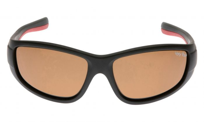 UGLY FISH PU5212 MATT BLACK FRAME BROWN LENS
