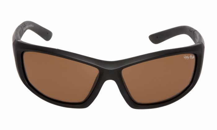 UGLY FISH PU5447 MATT BLACK FRAME BROWN LENS