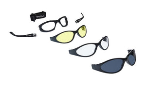 UGLY FISH SLIM RS04282 MULTI-LENS PACK SHINY BLACK FRAME