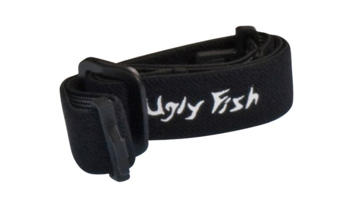 UGLY FISH SLIM RS04282 STANDARD SHINY BLACK FRAME SMOKE LENS