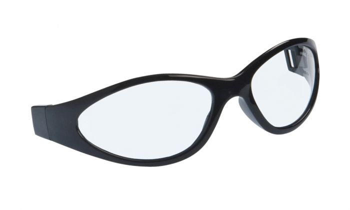 UGLY FISH SLIM RS04282 STANDARD MATT BLACK FRAME CLEAR LENS