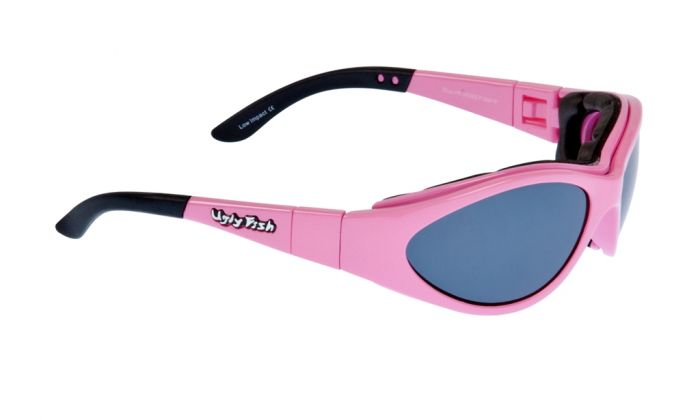 UGLY FISH SLIM RS04282 STANDARD PINK FRAME SMOKE LENS