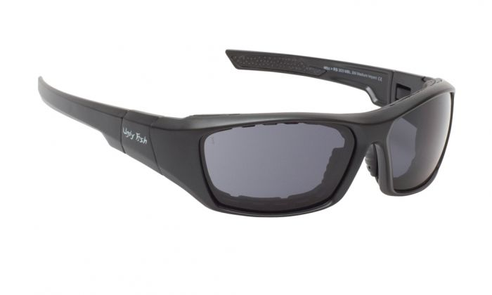 UGLY FISH BULLET RS303 MATT BLACK FRAME SMOKE LENS