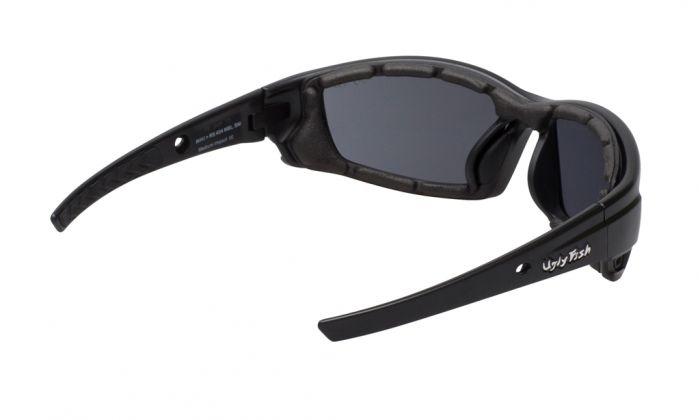 UGLY FISH ROCKET RS404 STANDARD MATT BLACK FRAME SMOKE LENS