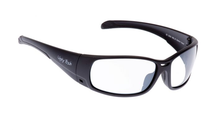 UGLY FISH ARMOUR RS5066 MATT BLACK FRAME CLEAR LENS