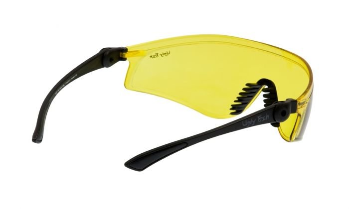 UGLY FISH FLARE RS5959 MATT BLACK FRAME YELLOW LENS