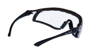 UGLY FISH FLARE WITH POSITIVE SEAL RS5959-PS MATT BLACK FRAME CLEAR LENS