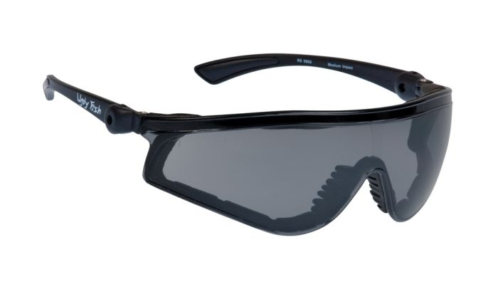 UGLY FISH FLARE WITH POSITIVE SEAL RS5959-PS MATT BLACK FRAME SMOKE LENS