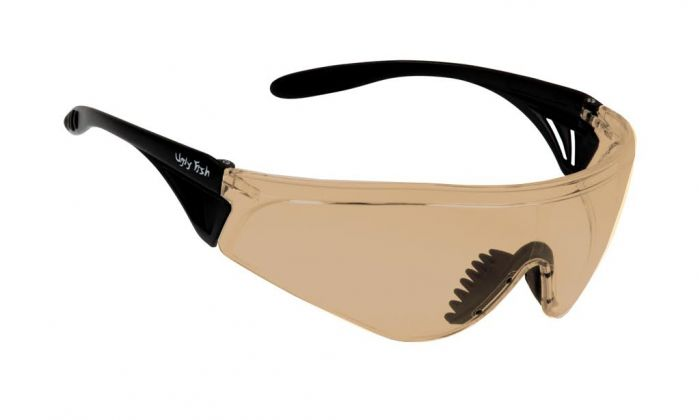 UGLY FISH FLARE WITH VENTED ARMS RS5959-V MATT BLACK FRAME BROWN LENS